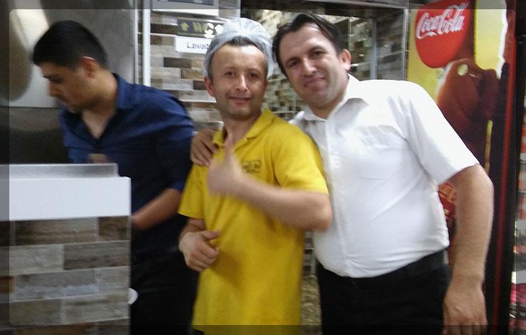 Şişçi İbo mutfak ekibi