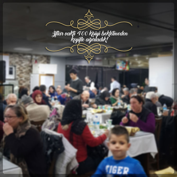 Konyaaltı Restoranımızda İftar Vakti 400 Kişiyi Ağırladık