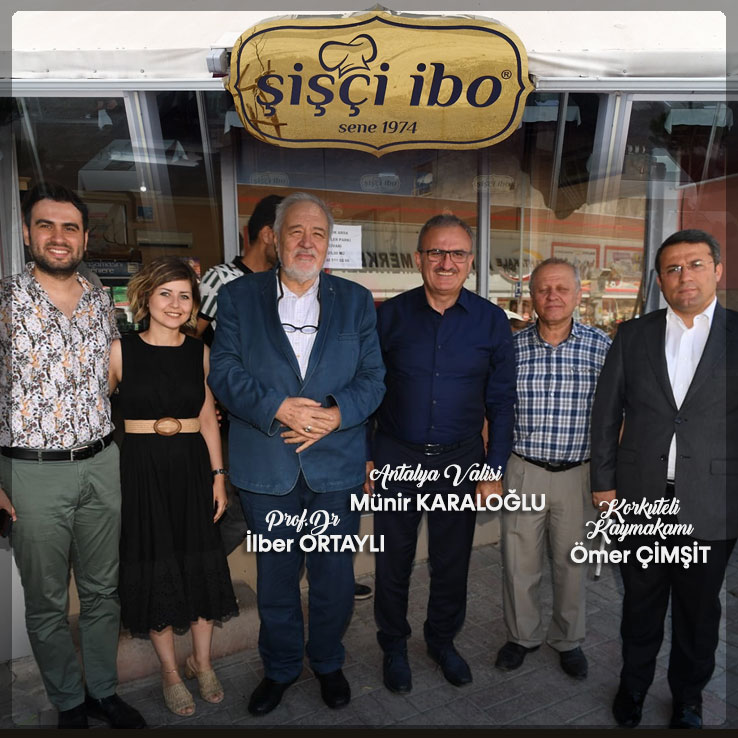 Antalya Valisi, Konyaaltı Kaymakamı Restoranımızı Tercih Etti
