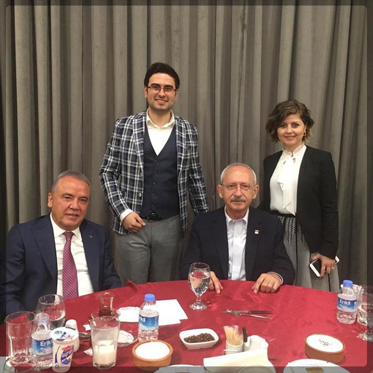 Kemal Kılıçdaroğlu'nu Ağırladık
