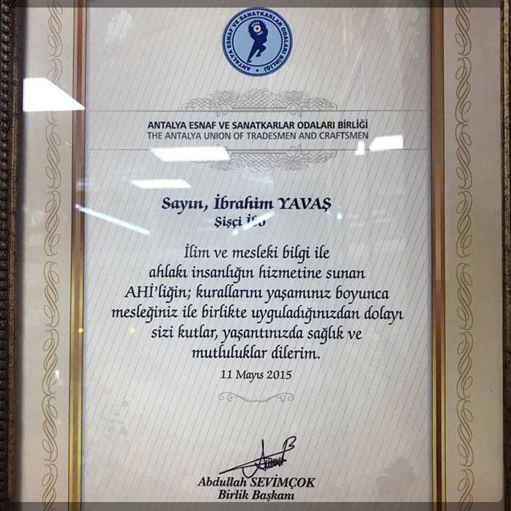 Antalya Esnaf ve Sanatkarlar Odası Birliği