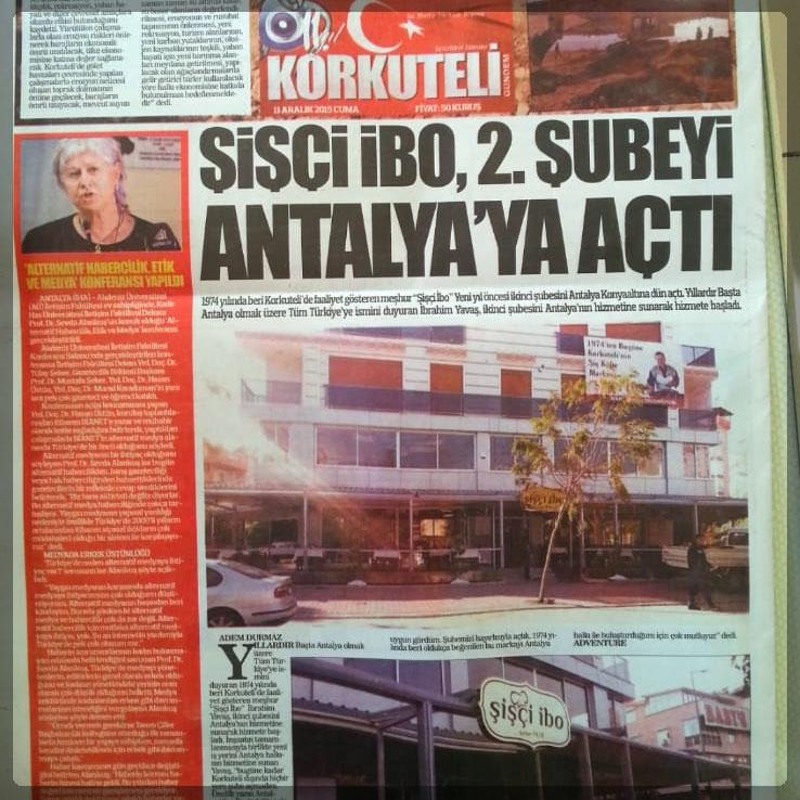 Şişçi İbo 2. Şubeyi Antalya'ya Açtı!