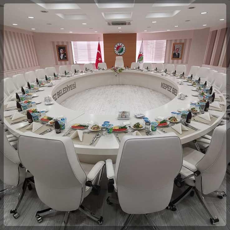 Kepez Belediyesi Protokol Yemeği