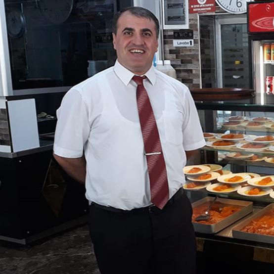 Salon Şefi Mehmet Karaca